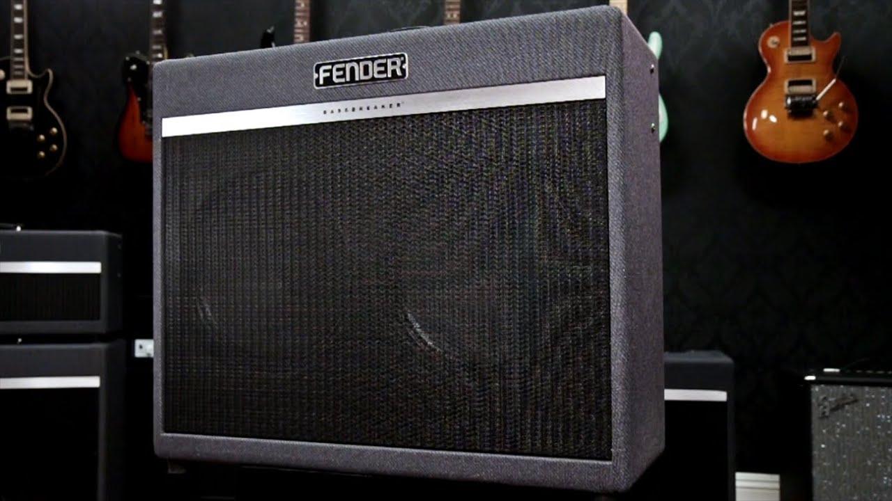 Fender Bassbreaker 45 : fender bassbreaker 45 watt tube amp youtube ~ Vivirlamusica.com Haus und Dekorationen