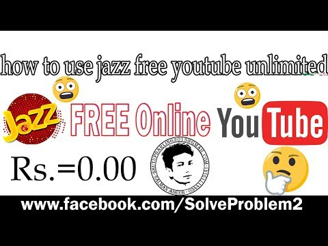 how to use jazz free YouTube Unlimited (Life Time)