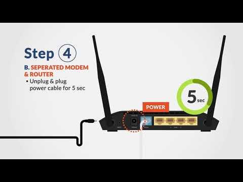 First Media - Tutorial Restart Modem & Wifi Router