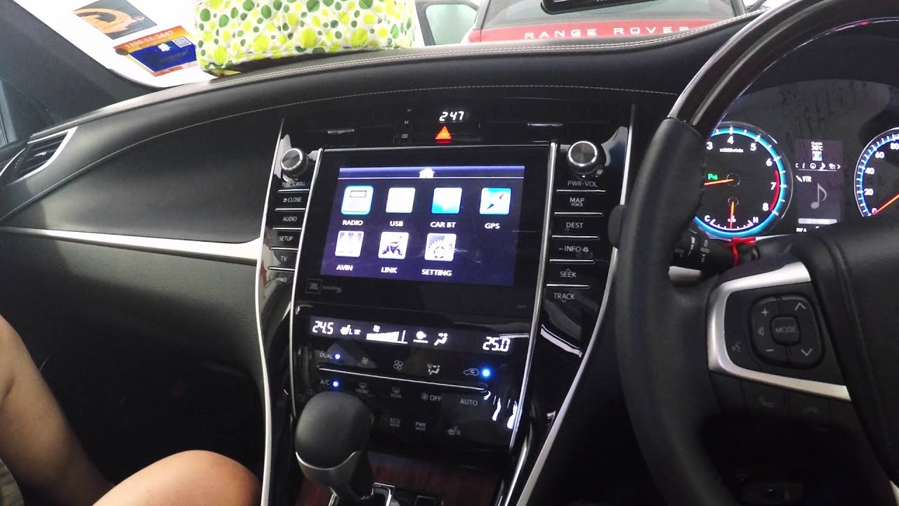 Toyota Harrier 2015 Fm Amp Gps Conversion Youtube