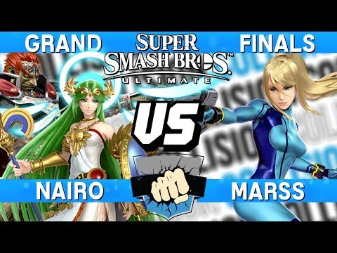 Collision 2019 Grand Finals - Nairo (Palutena/Ganondorf) vs Marss (Zero Suit Samus) - Smash Ultimate thumbnail