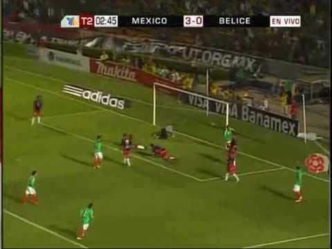 Mexico vs Belize [WCQ June 21, 2008]
