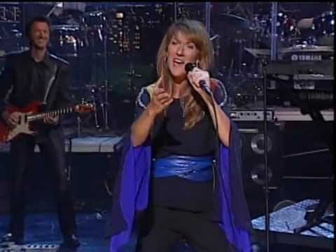 Céline Dion - I'm Alive ( David Letterman )