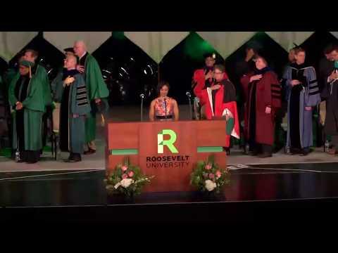Roosevelt University Spring 2017 Commencement, Morning