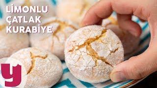 Katı Yağsız Limonlu Çatlak Kurabiye Tarifi - Kurabiye Tarifleri   Yemek.com