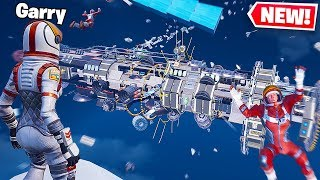 SECRET SPACE STATION FOUND IN FORTNITE!