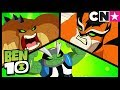 Ben 10 | The New Ben 10 Season 3 Aliens: Slapback, Rath and Humungousaur | Cartoon Network