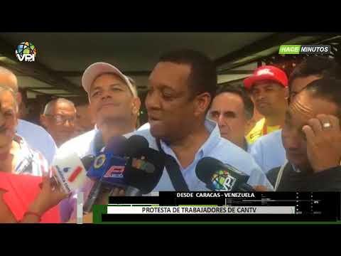 Venezuela - Protesta De Trabajadores De CANTV