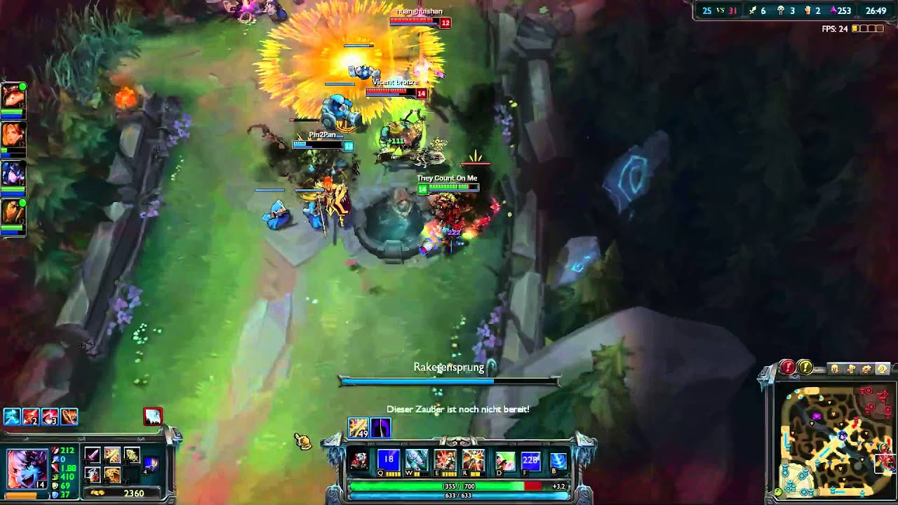 League Of Legends Spielzeit Sehen
