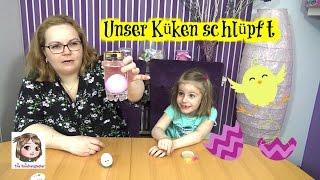 EIN KÜKEN ZU OSTERN schlüpft aus dem Ei | Magisches Überraschungsei | Magic Growing Egg