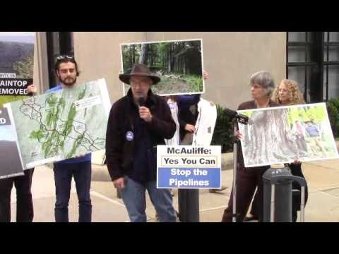 Press conference On  Mountaintop Removal