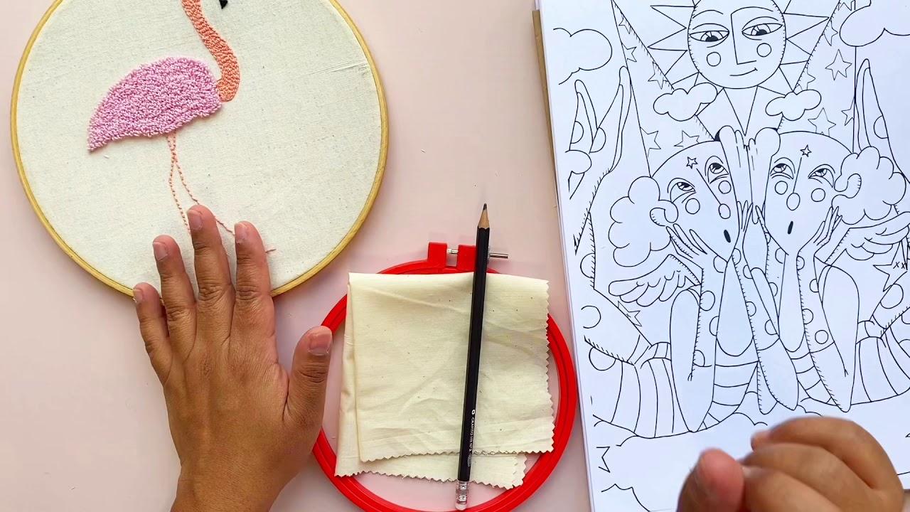 Master TIP: Cómo traspasar un diseño a la tela
