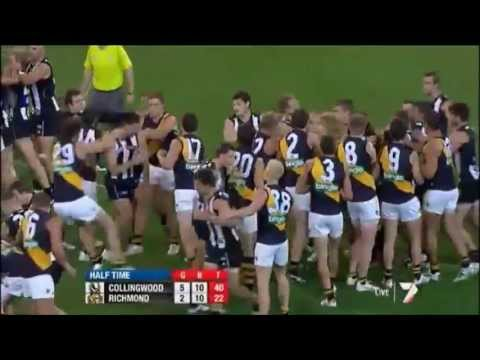 Best AFL Fights of 2012