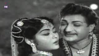 Uhalugusagusalade Video Song || Bandipotu Telugu || N.T.R, Krishna Kumari