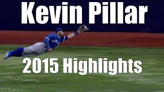 Kevin Pillar (superman) - Toronto Blue Jays - 2015 Highlight Mix HD