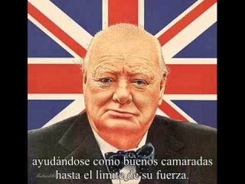 Winston Churchill Nunca Nos Rendiremos Famoso Discurso Subtitulado