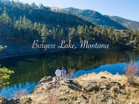 Burgess Lake, Montana October 2018 [DJI Phantom 4 Pro+ Obsidian]