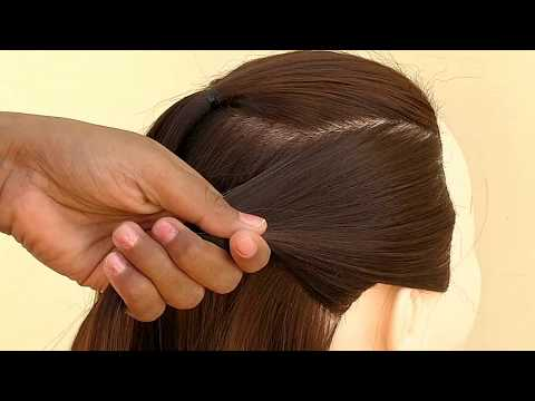 Easy Hairstyle For Party For Long Hair || Beautiful Party Hairstyles