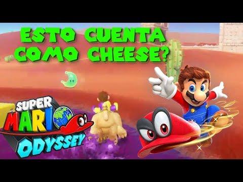 Este perro/jaguar está genial :-D | Mario Odyssey en español