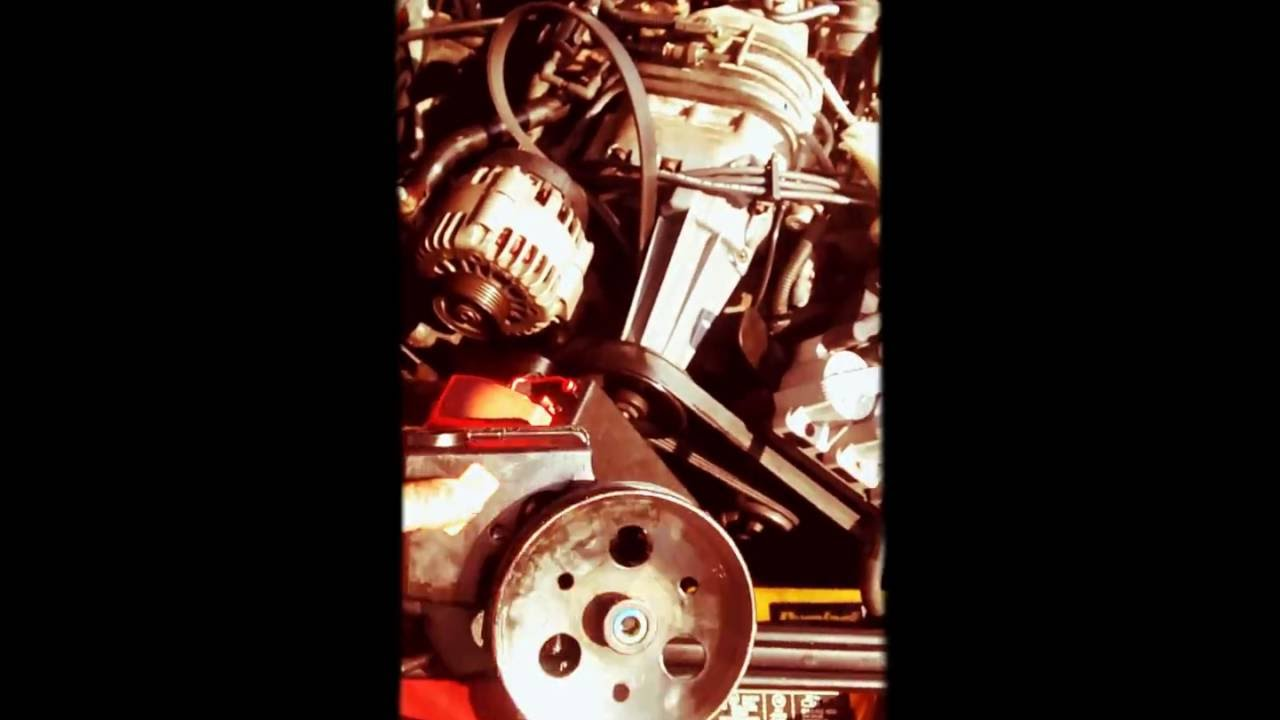 2001 pontiac grand prix power steering pump [ 1280 x 720 Pixel ]