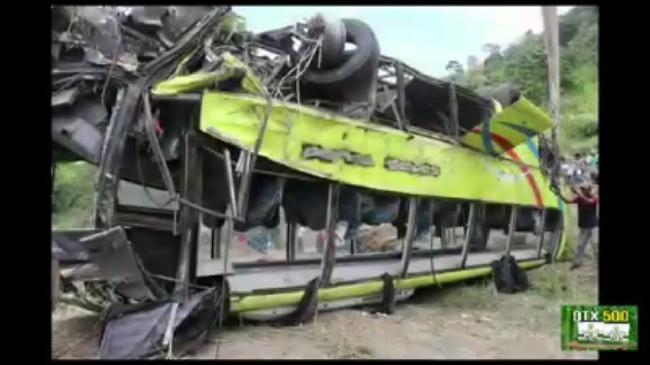 Ceres Bus Accident at Salvador Benedicto | Eve of March 25, 2019