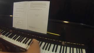 Thunderstorm by Dianne Goolkasian Rahbee RCM piano repertoire preparatory level A Celebration Series