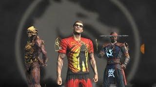 """ЖЕСТОКАЯ БИТВА""""ЗАКАЛКА СТАЛИ""""  Kombat Cup ДЖ. КЕЙДЖ Mortal Kombat Mobile!"""