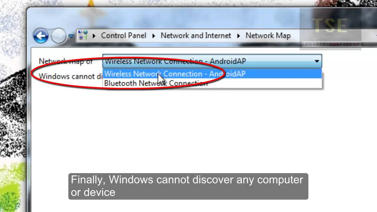 Windows Cannot Discover Any Computer Or Device Network Map Not - Network map page