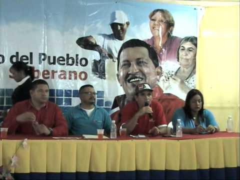 JULIO ROSALES Delegado Electo del P.S.U.V. por Casacoima, Edo Delta Amacuro