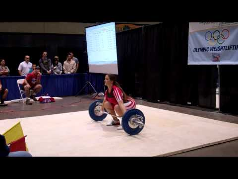American Record Makers Katy Moorman 61 snatch