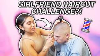 MY GIRLFRIEND MESSED MY HAIR UP?!