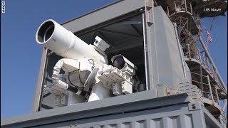 بالفيديو.. دقة تصويب رهيبة لأول سلاح ليزر حي في العالم
