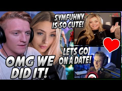 Tfue & Corinna Get Symfuhny A DATE With A MODEL Girl Streamer! Symfuhny FREAKS Out! (Both POVs)