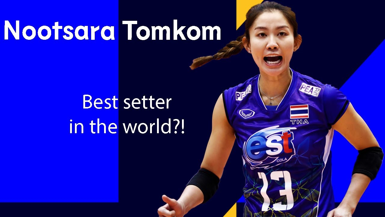 """Nootsara Tomkom is the BEST Setter in World Volleyball"" says Carli Lloyd"