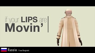 [MMD] Hetalia Characters - Lips Are Movin