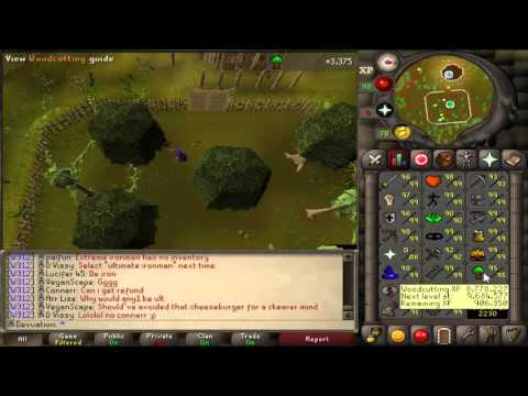 Oldschool Runescape Ironman - Episode 27 - Woodcutting + Banking Construction