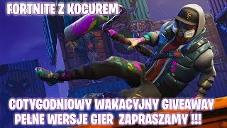 FORTNITE-WEEKLY HOLIDAY GIVEAWAY-FULL GAME VERSIONS-Play with Kocure-Gram with viewers:D