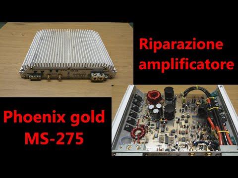 Riparazione amplificatore Phoenix