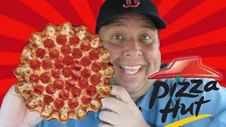 PIZZA HUT'S Crazy Cheesy Crust Pizza REVIEWED! thumbnail