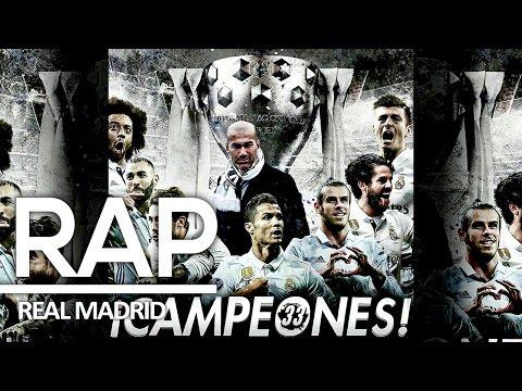 RAP DO REAL MADRID | CAMPEÃO ESPANHOL 2017 | RAP AMINO | TRIBUTO 50º | KANHANGA SPORTRAP