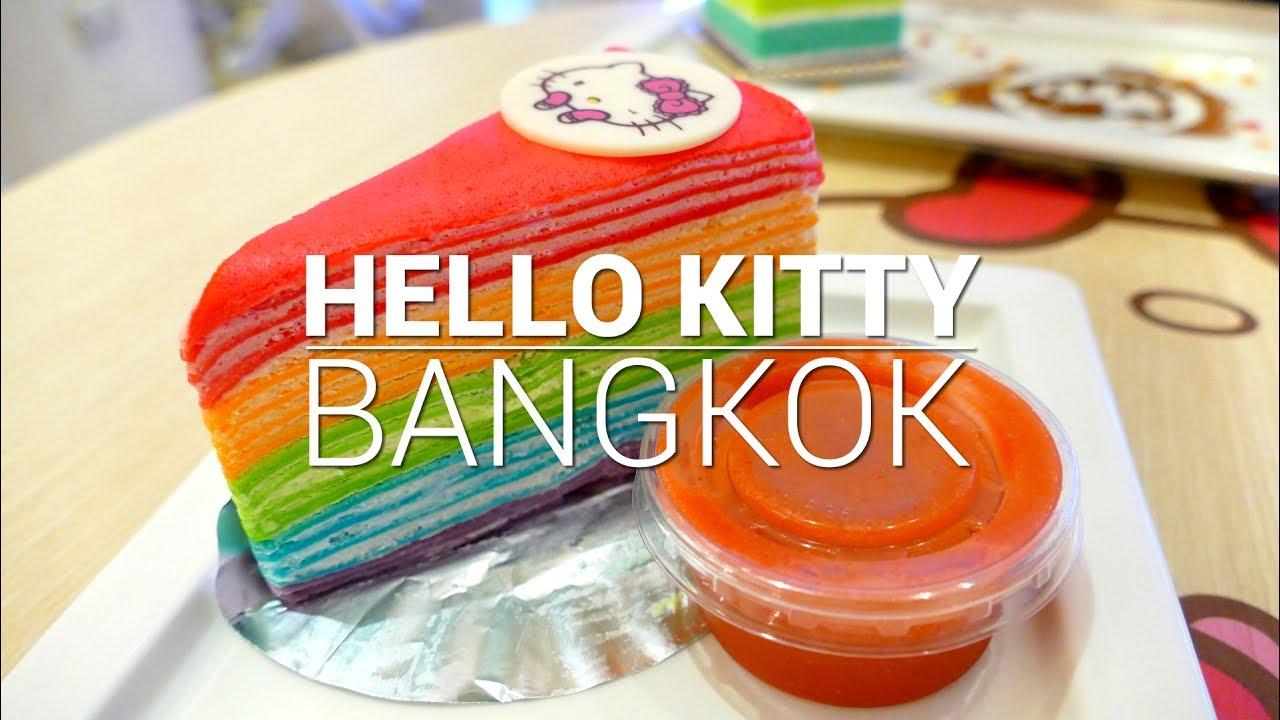HELLO KITTY HOUSE and Cafe Bangkok Thailand & HELLO KITTY HOUSE and Cafe Bangkok Thailand - YouTube