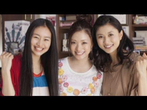 上戸彩、菊川怜、忽那汐里 まるでホントの三姉妹