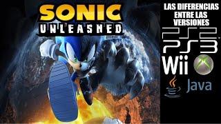 Las Diferencias entre las versiones de Sonic Unleashed
