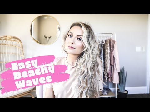 EASY BEACHY WAVES IN LESS THAN 10 MINUTES! thumbnail