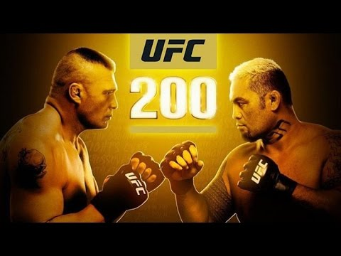 UFC 200 Fight Results