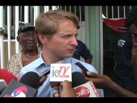 British high commissioner visits east Port of Spain