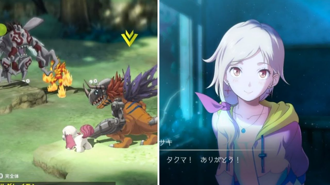 DIGIMON SURVIVE GAMEPLAY! - BASIC STRATEGY RPG?!