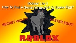 Roblox - Wolves' vita 2 - come trovare un lupo bianco segreto o un uovo di Pasqua? -HD