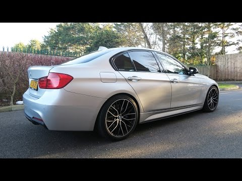ACS Lowering Springs fitted - AC Schnitzer Suspension! (BMW F30 2014 M Sport 320d)