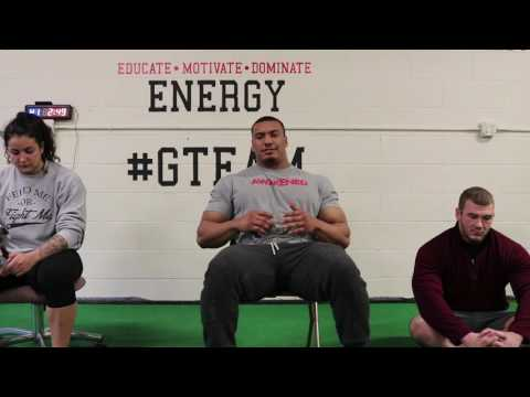 What Powerlifting Advice would you give your younger self Larry Williams and Gina Aversa